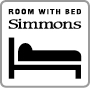 Room with Bed Simmons EN