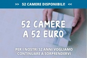 52 Camere a 52 Euro
